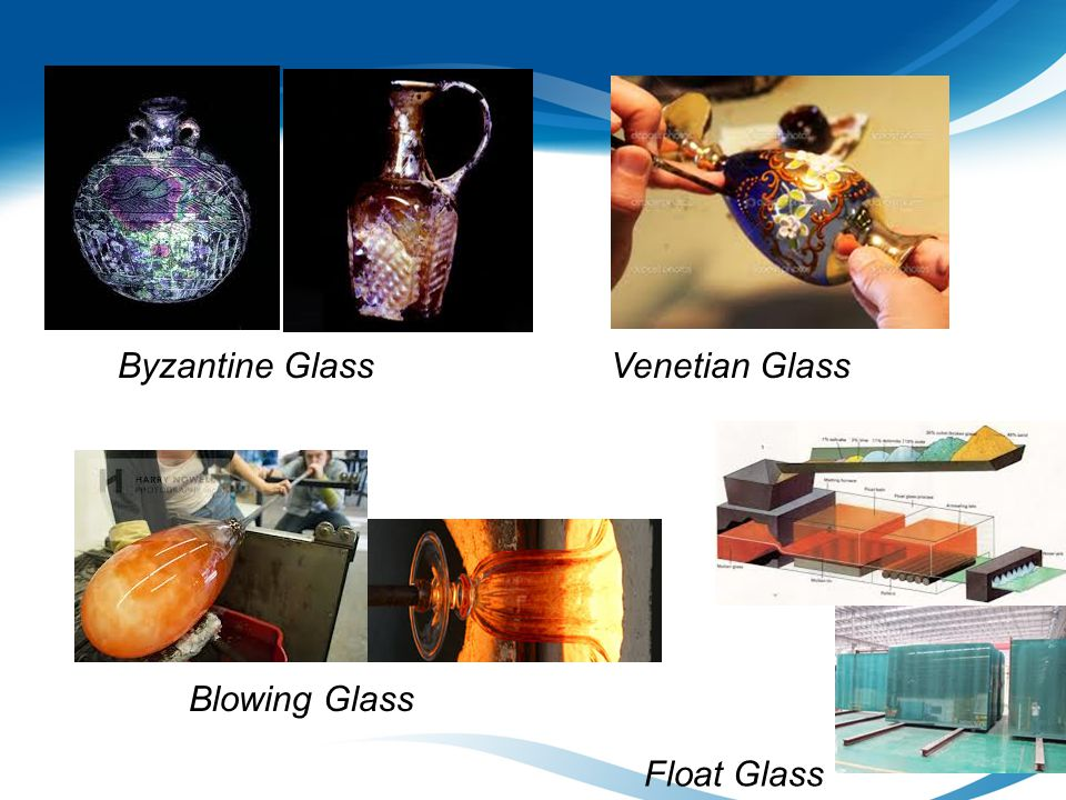Byzantine Glass Venetian Glass Blowing Glass Float Glass