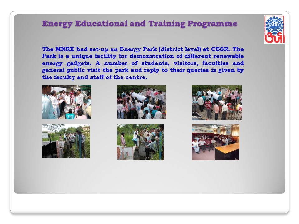 Energy Educational and Training Programme