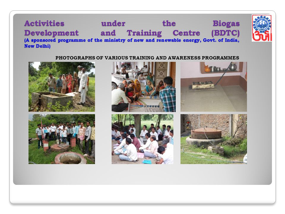 PHOTOGRAPHS OF VARIOUS TRAINING AND AWARENESS PROGRAMMES
