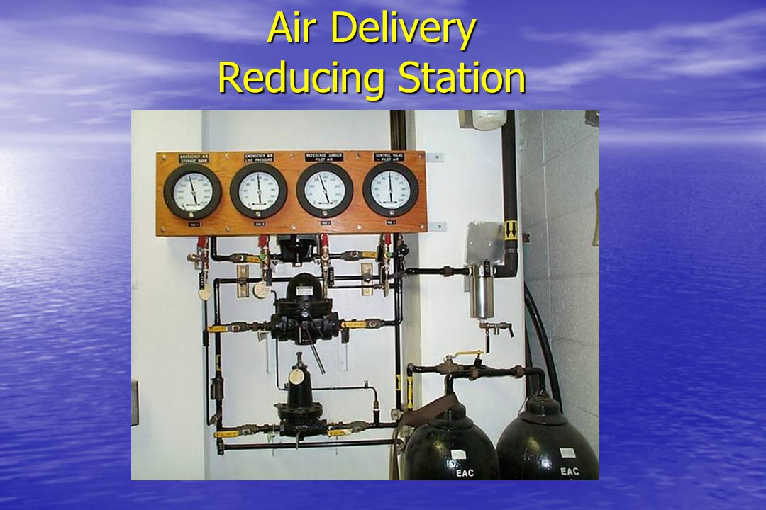 Air Delivery Reducing Station
