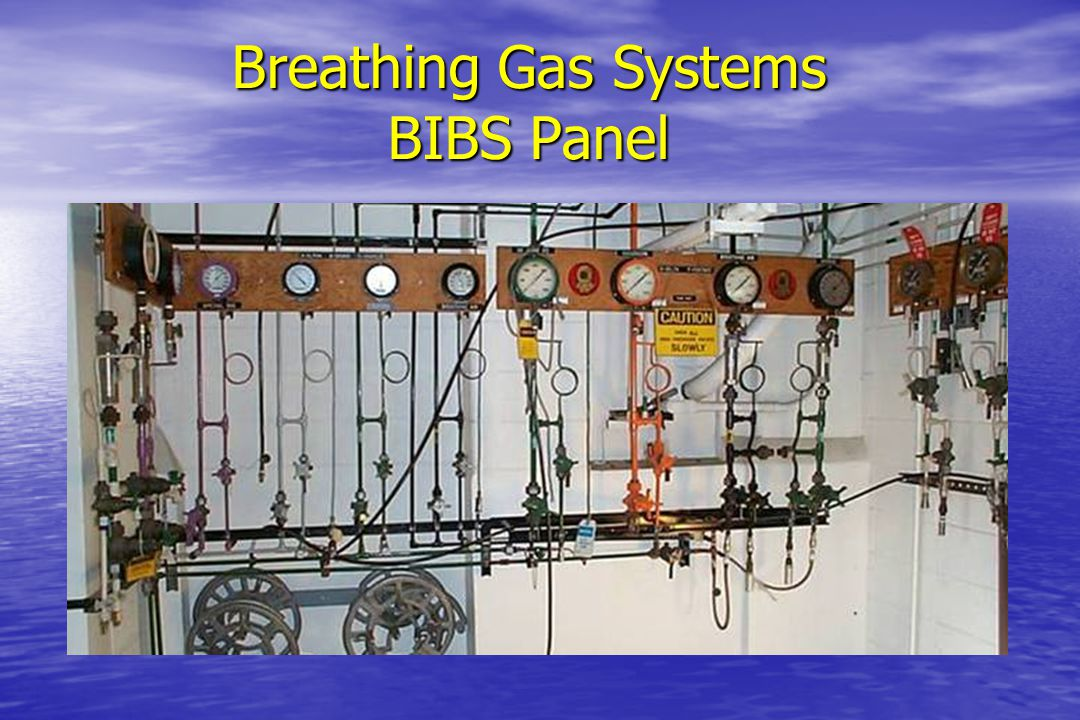 Breathing Gas Systems BIBS Panel