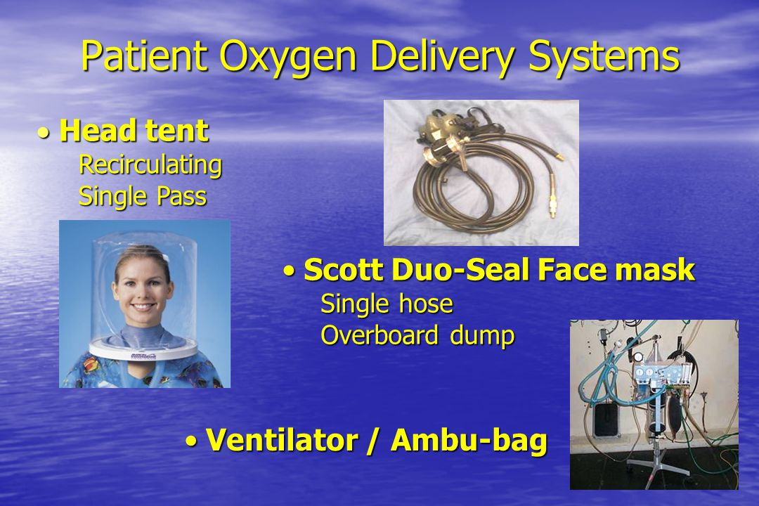 Patient Oxygen Delivery Systems
