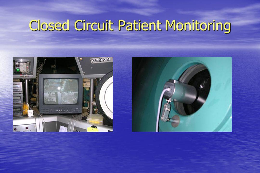 Closed Circuit Patient Monitoring