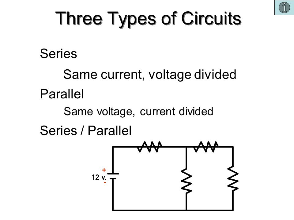 Three Types of Circuits