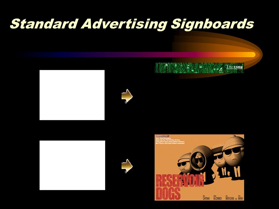 Standard Advertising Signboards