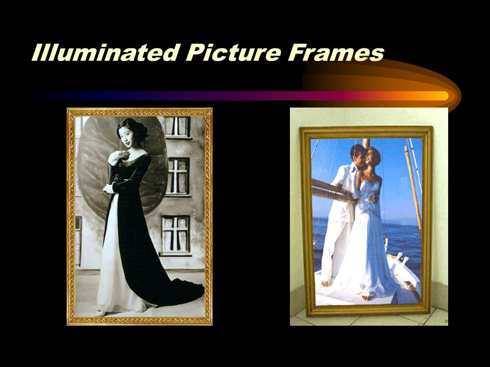 Illuminated Picture Frames