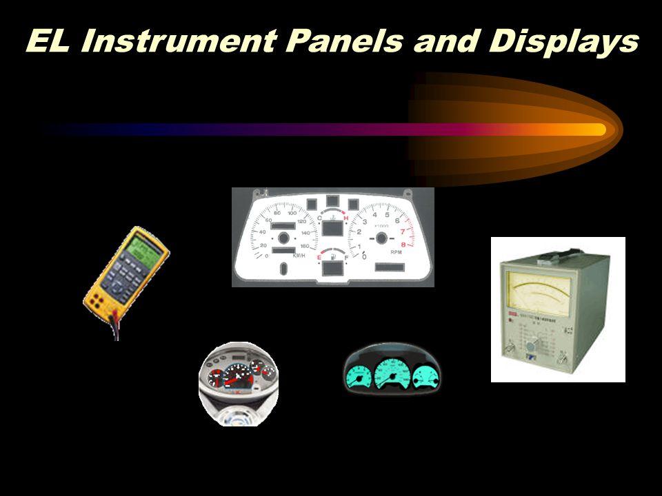 EL Instrument Panels and Displays
