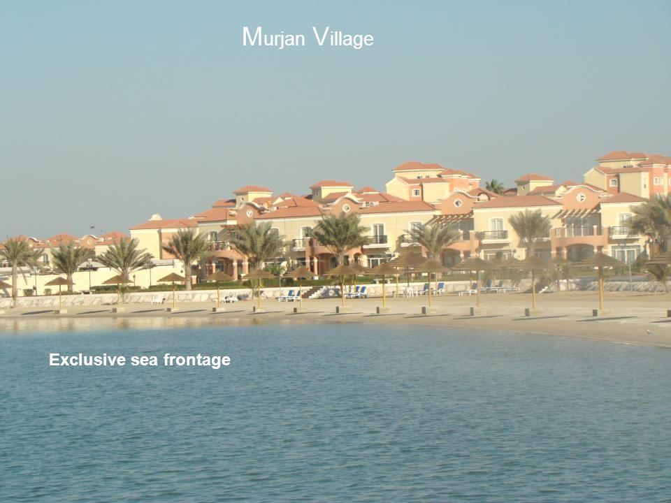 Murjan Village Exclusive sea frontage