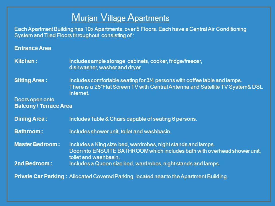 Murjan Village Apartments