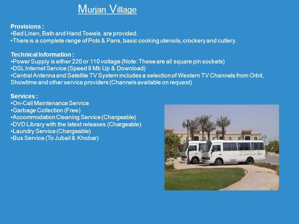 Murjan Village Provisions :