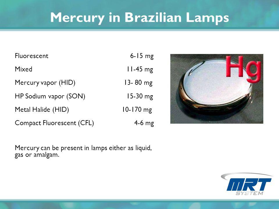Mercury in Brazilian Lamps