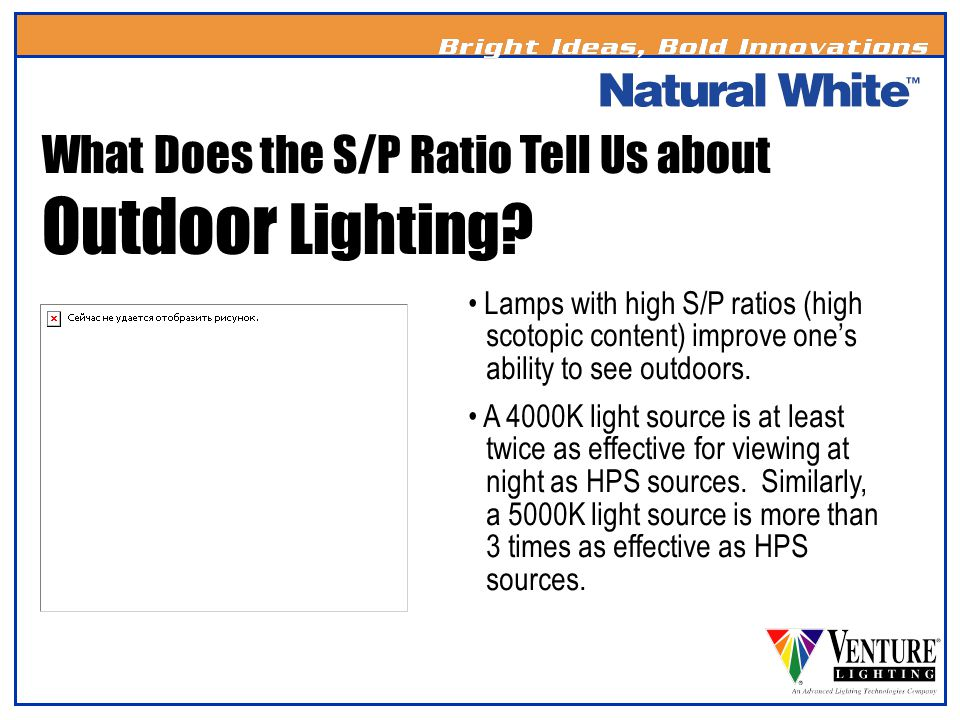 What Does the S/P Ratio Tell Us about Outdoor Lighting