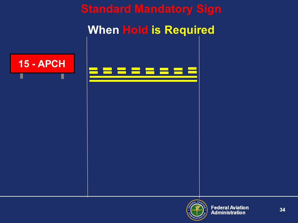 Standard Mandatory Sign