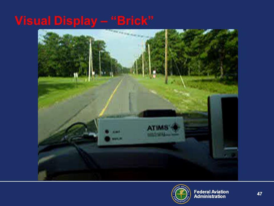 Visual Display – Brick