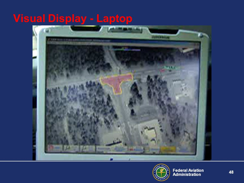 Visual Display - Laptop