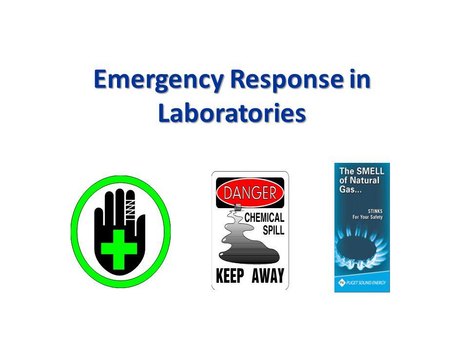 Emergency Response in Laboratories