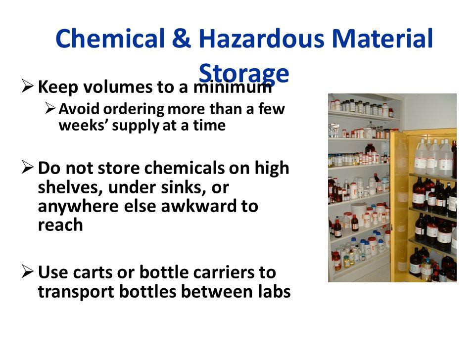 Chemical & Hazardous Material Storage