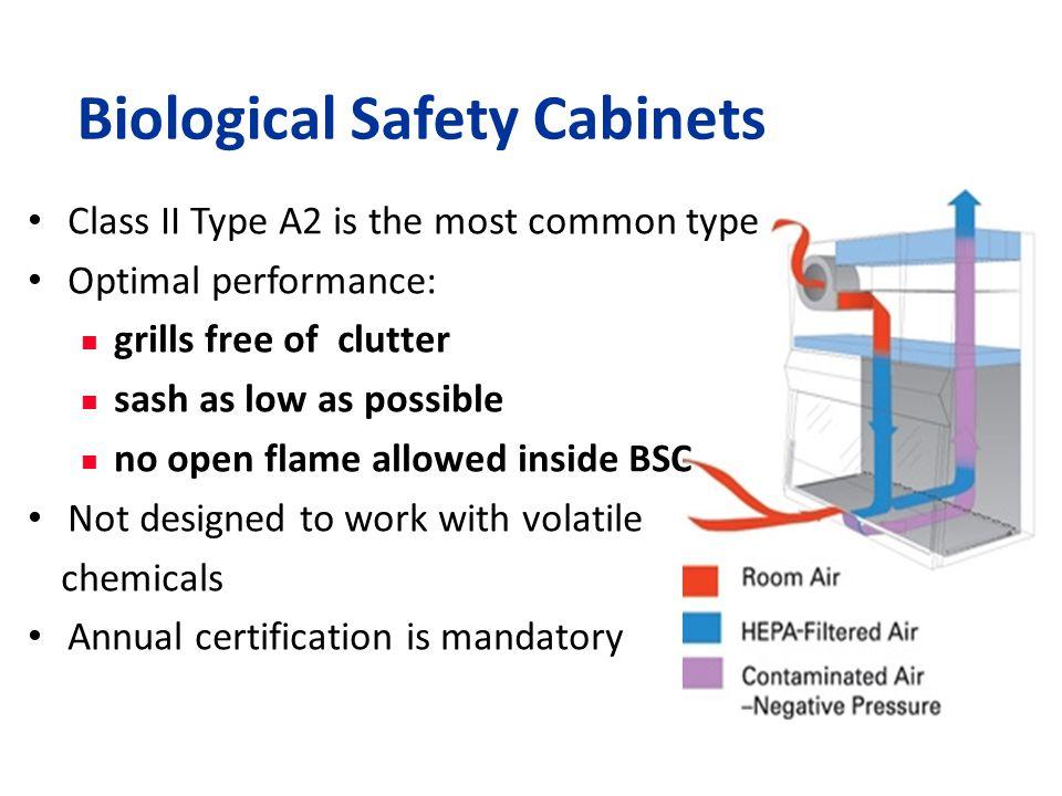 Biological Safety Cabinets