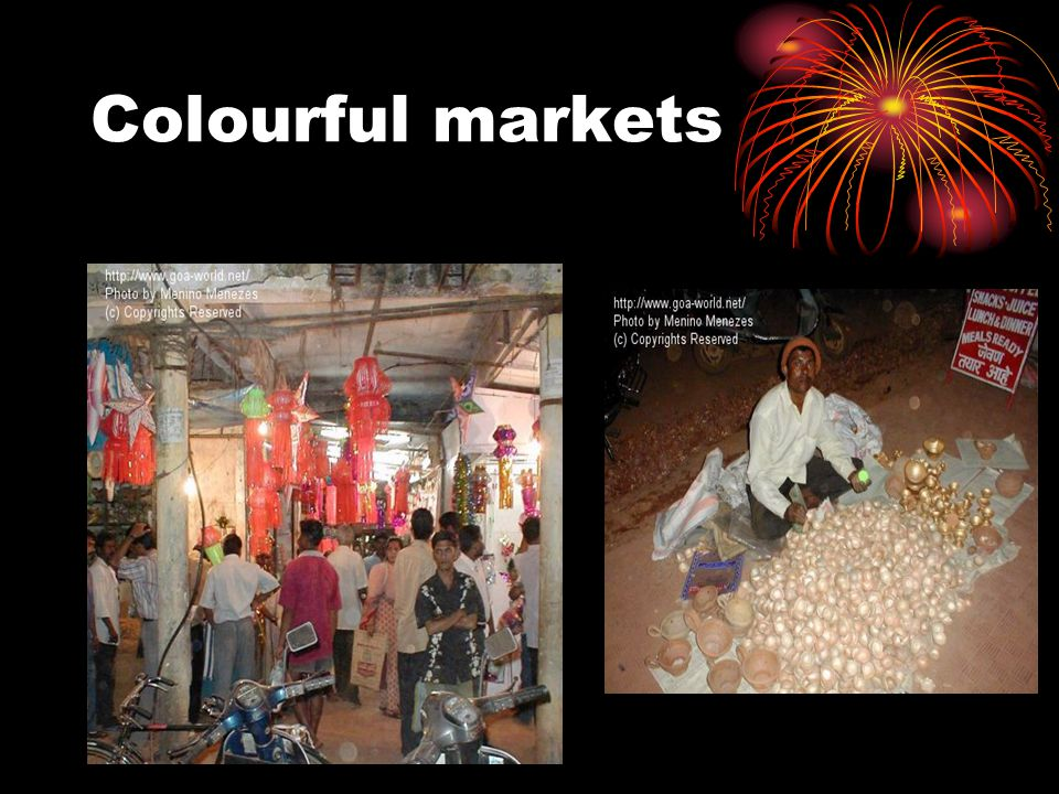 Colourful markets