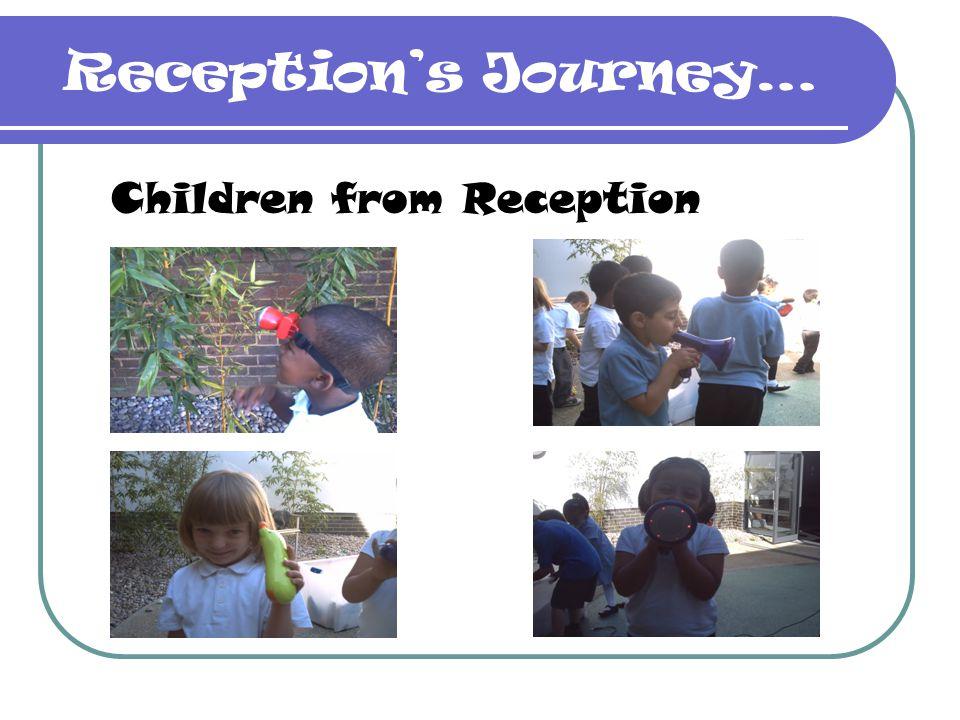 Reception's Journey… Children from Reception