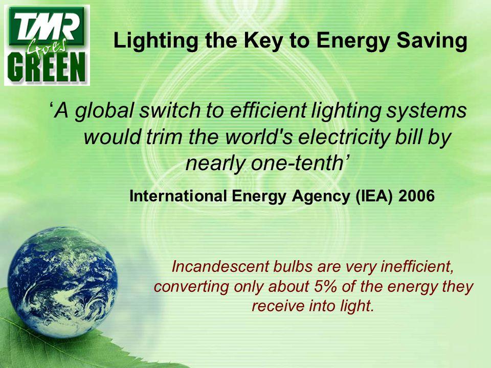 Lighting the Key to Energy Saving