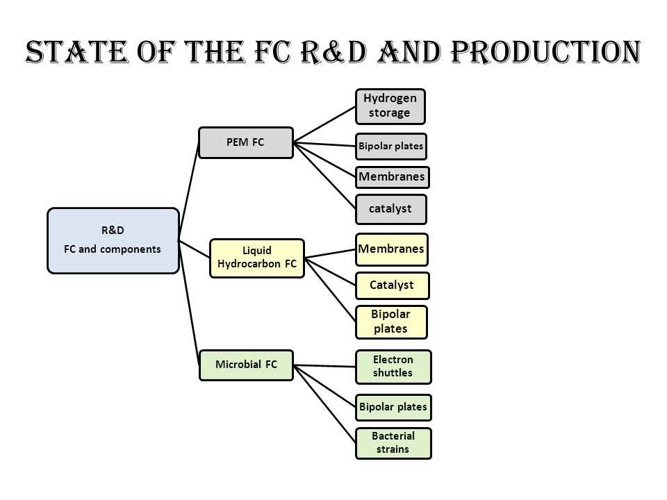 State of the FC r&D and production
