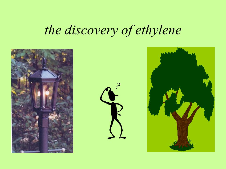 the discovery of ethylene