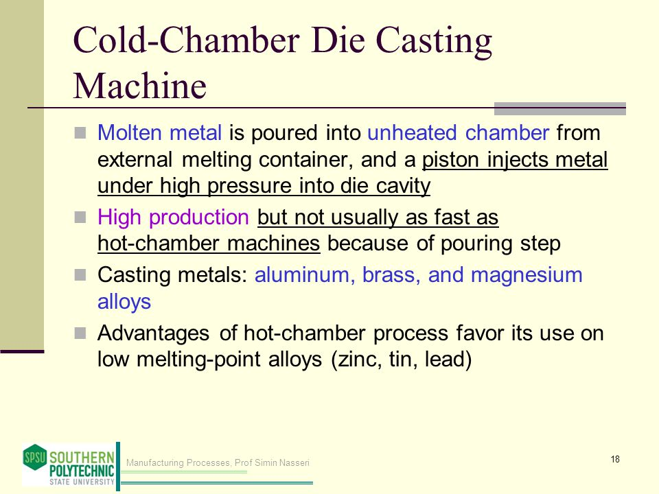 Cold‑Chamber Die Casting Machine