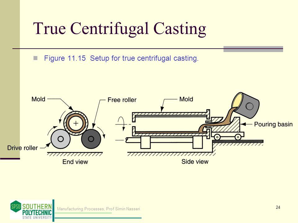 True Centrifugal Casting