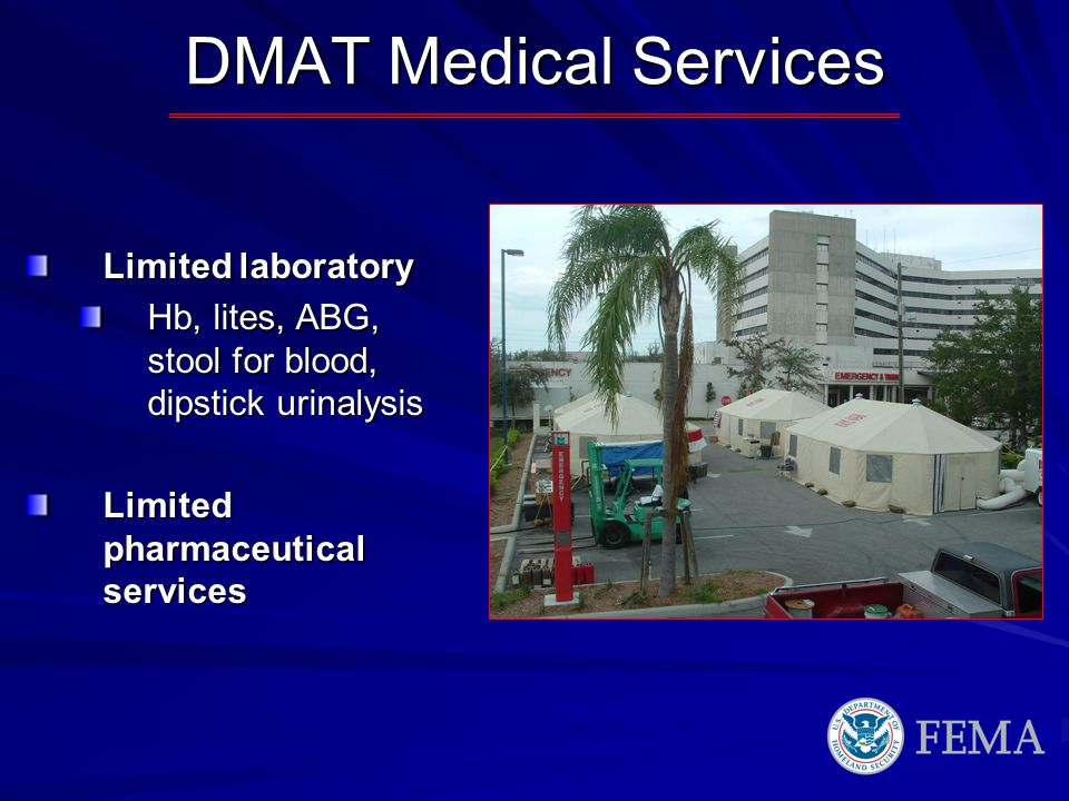DMAT Medical Services Limited laboratory