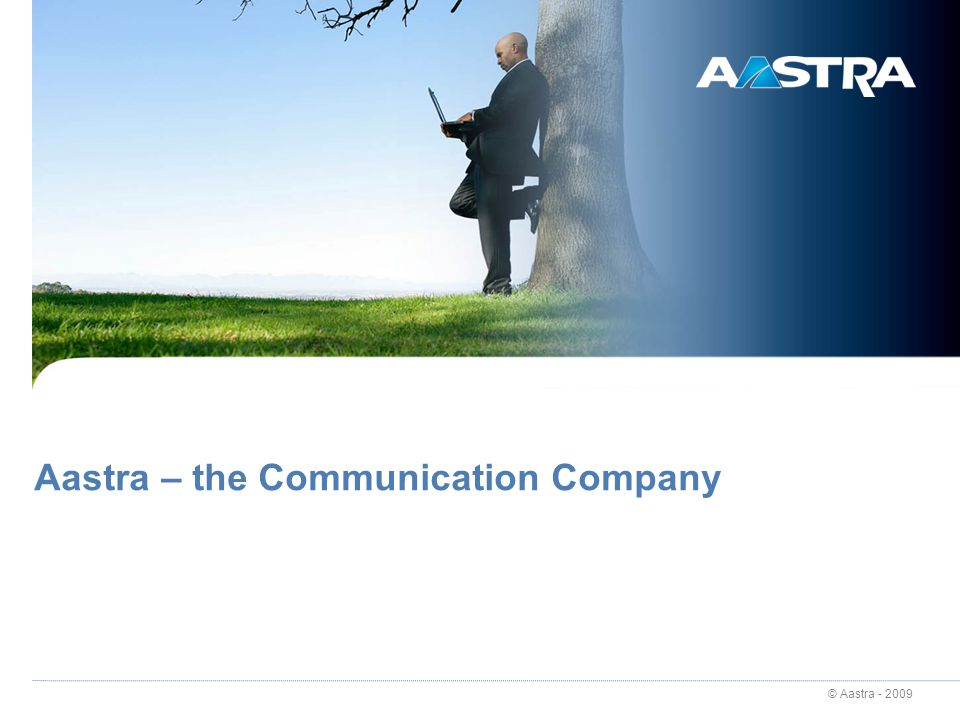 Aastra – the Communication Company