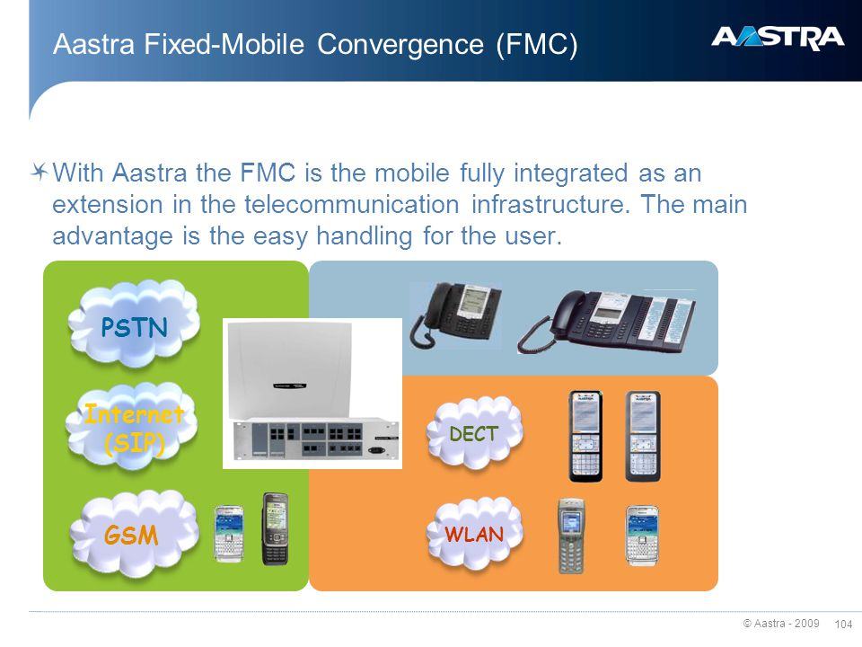 Aastra Fixed-Mobile Convergence (FMC)