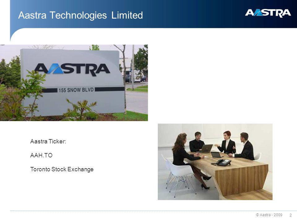 Aastra Technologies Limited