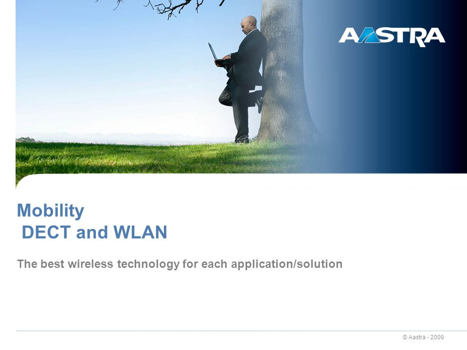 The best wireless technology for each application/solution