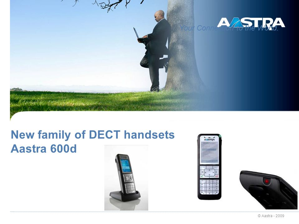 New family of DECT handsets Aastra 600d