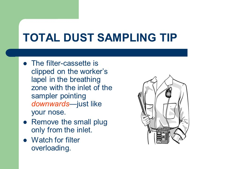 TOTAL DUST SAMPLING TIP