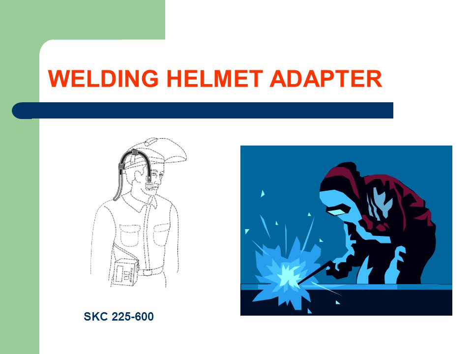 WELDING HELMET ADAPTER