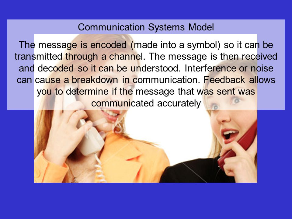 Communication Systems Model