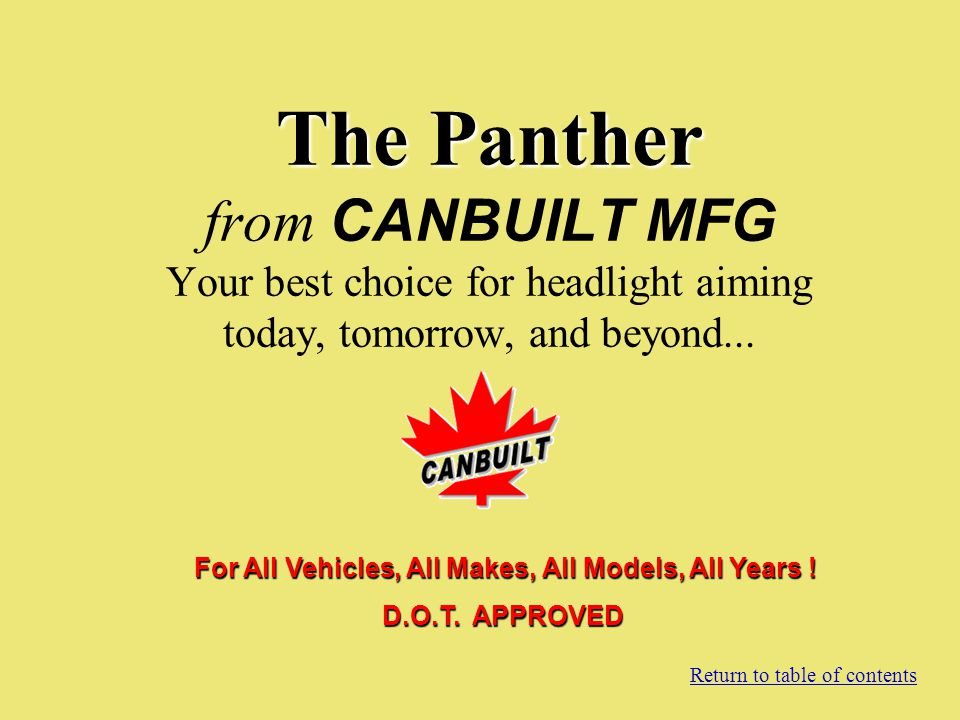 For All Vehicles, All Makes, All Models, All Years !