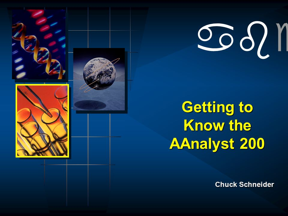 Getting to Know the AAnalyst 200