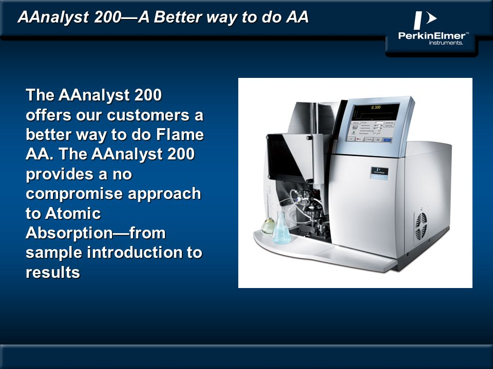 AAnalyst 200—A Better way to do AA