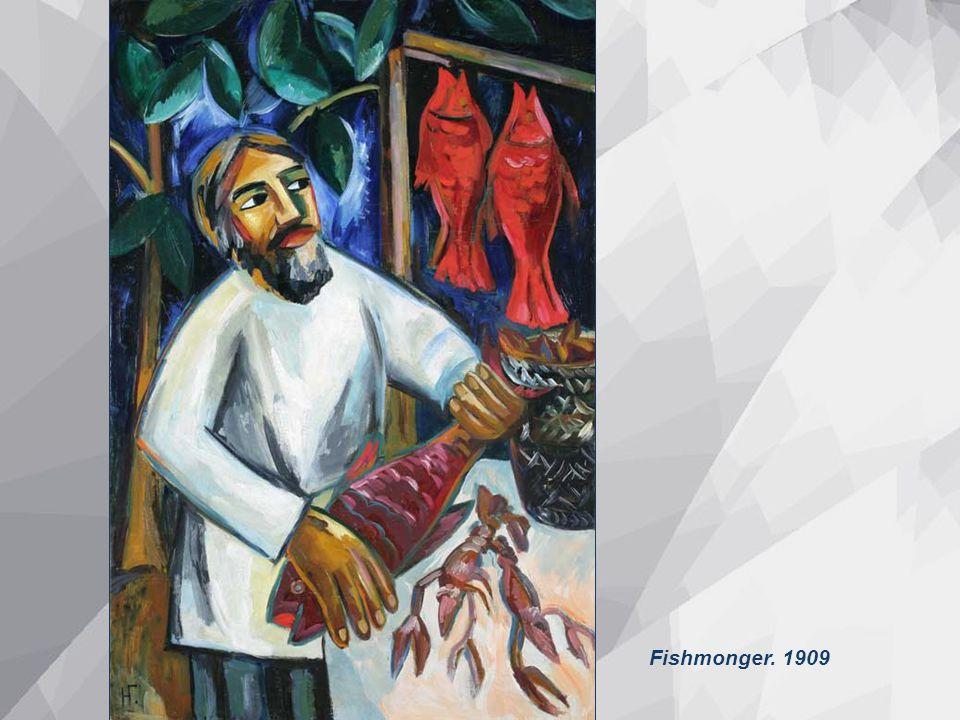 Fishmonger. 1909