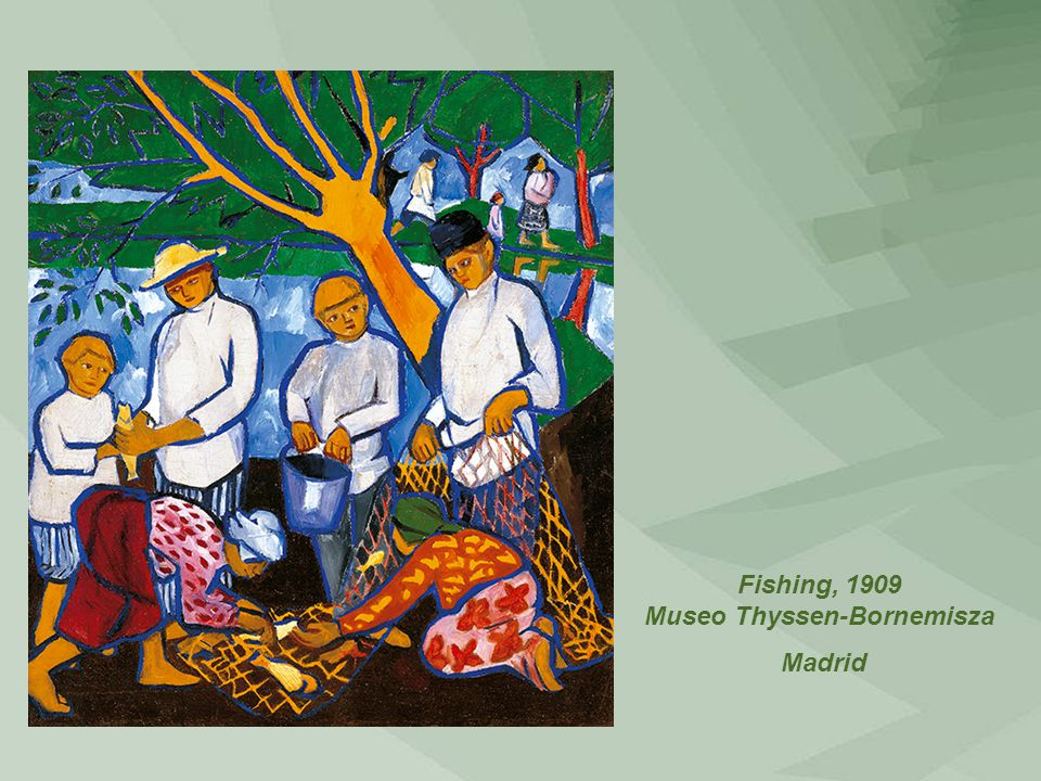 Fishing, 1909 Museo Thyssen-Bornemisza