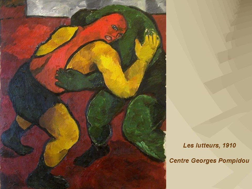 Les lutteurs, 1910 Centre Georges Pompidou