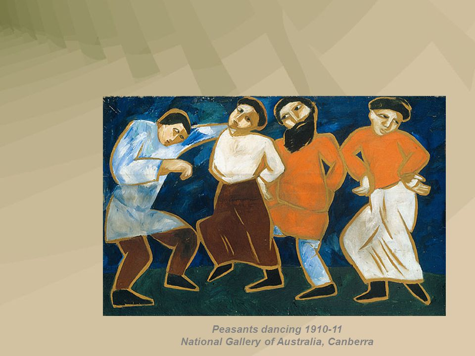 Peasants dancing 1910-11 National Gallery of Australia, Canberra