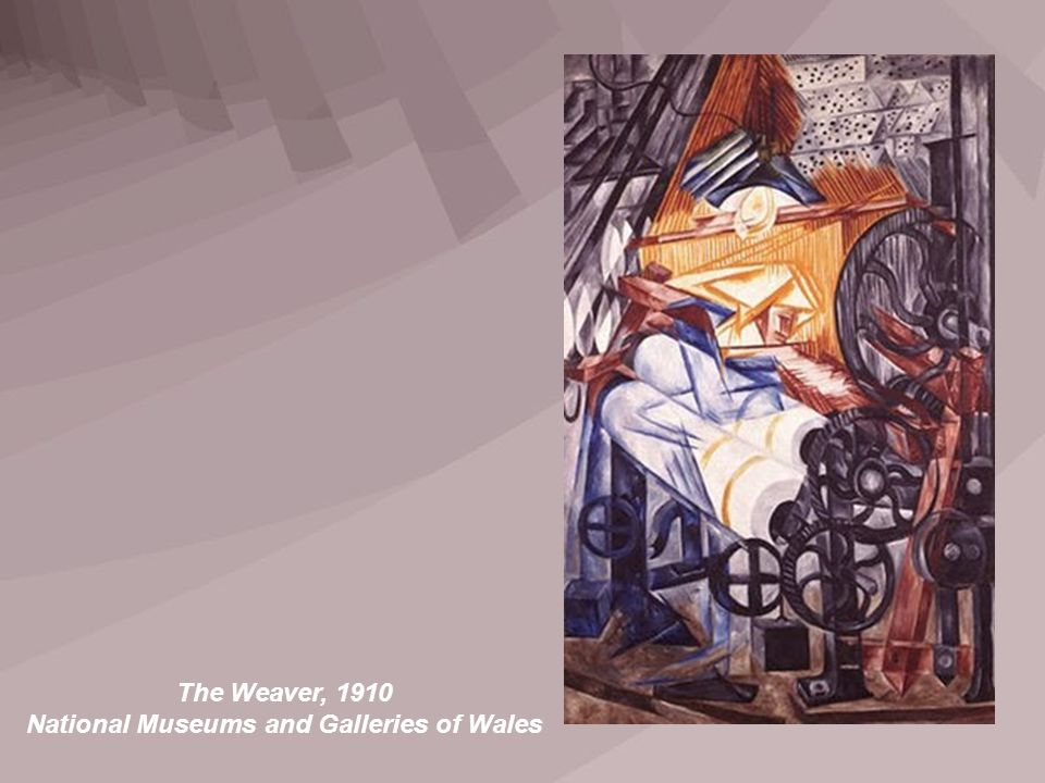 The Weaver, 1910 National Museums and Galleries of Wales