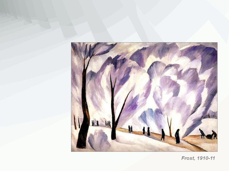 Frost, 1910-11