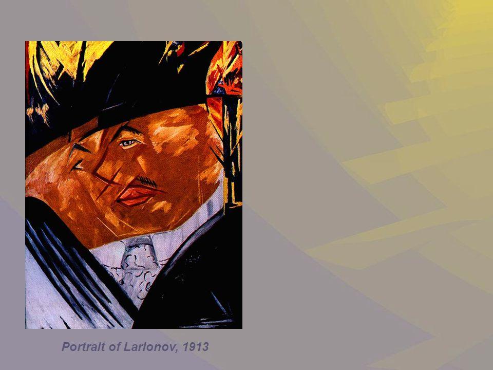 Portrait of Larionov, 1913