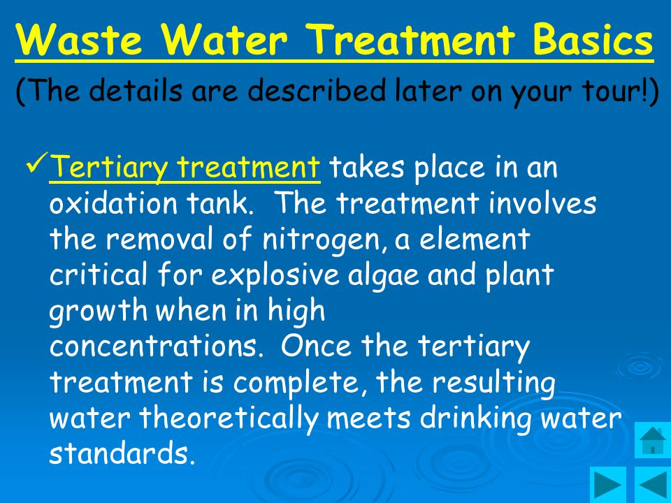 Waste Water Treatment Basics