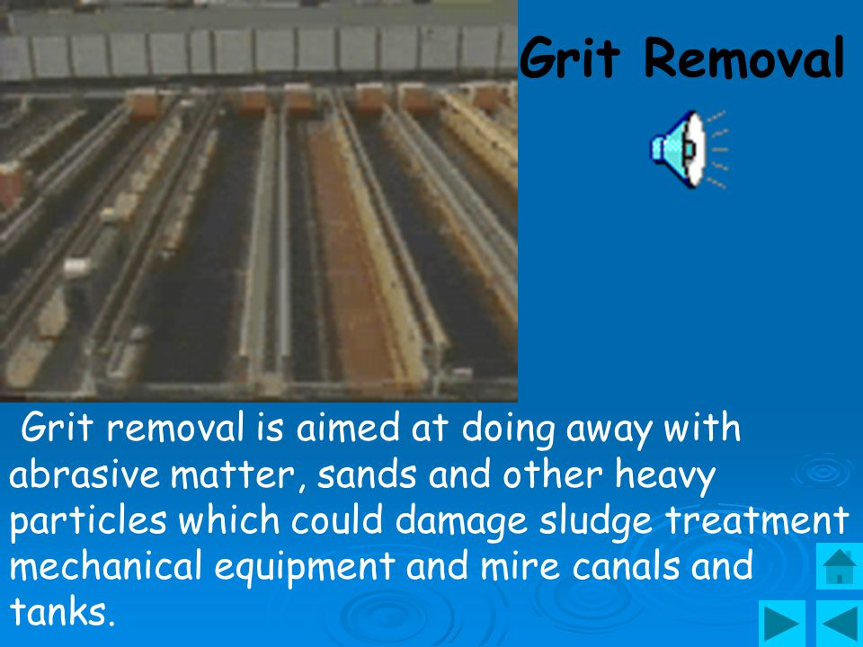 Grit Removal